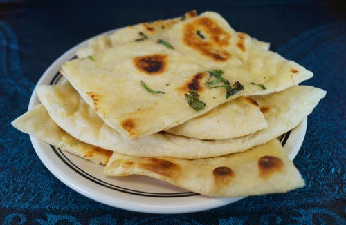 Naan, Garlic Naan, Cheese Naan Indian Food Tacoma University Place Fircrest Lakewood Parkland Fife Milton Lakeland South Sumner